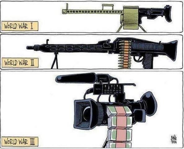 3.Dünya Savaşı taş ve sopa ile yapılmayacak medya ile yapılacak.